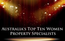 Australia's Top Ten Women Property Specialists 2019