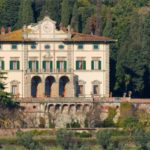 The estate of the 19th century with vast areas of land, including forests, vineyards and olive groves in Tuscany